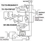 Inverter circuit schematic