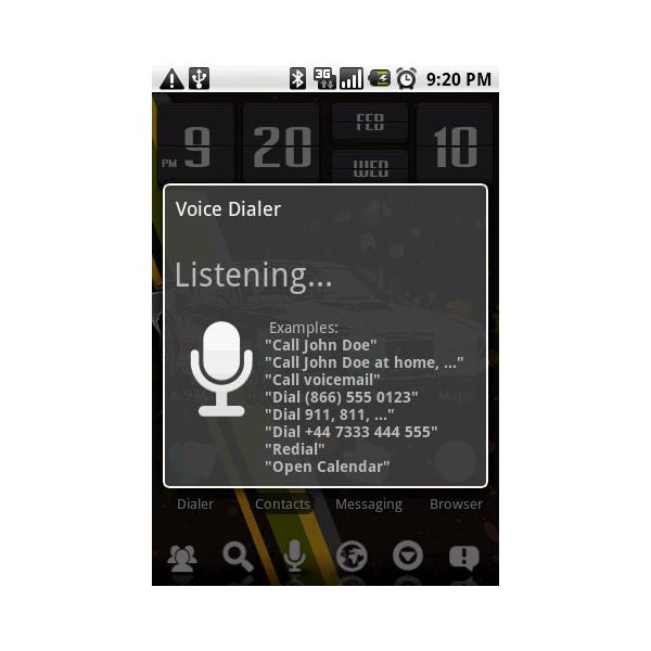 How to Use Voice Dialing With the Motorola Droid
