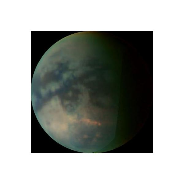 Titan's Methane Cloud Cover