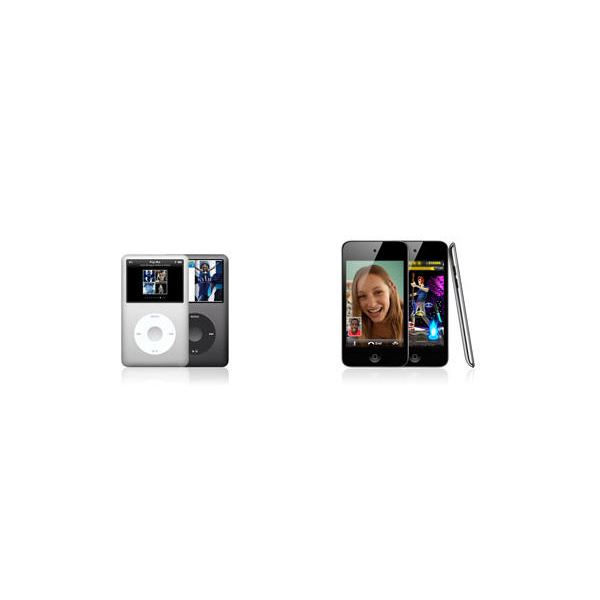 iPod classic and iPod touch