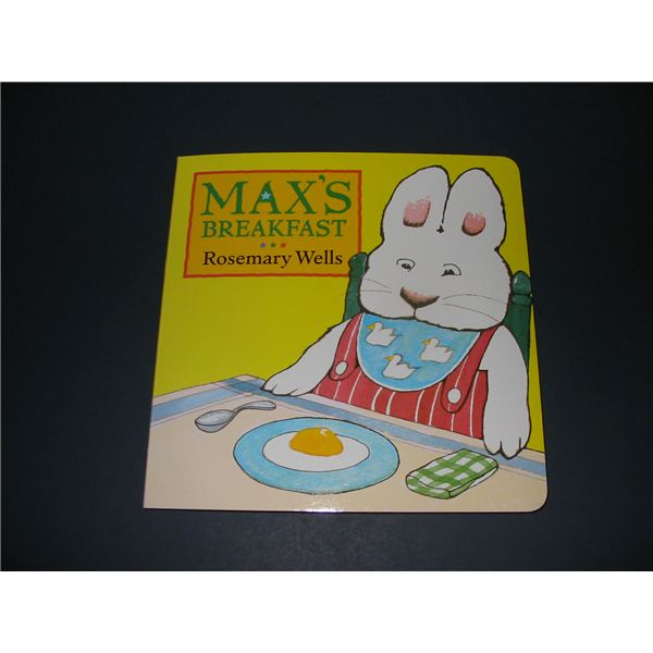 Max's Breakfast by Rosemary Wells: Activities for Preschool and Early Education Teachers