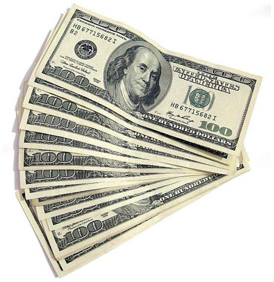 One Hundred Dollar Bills Morgue File