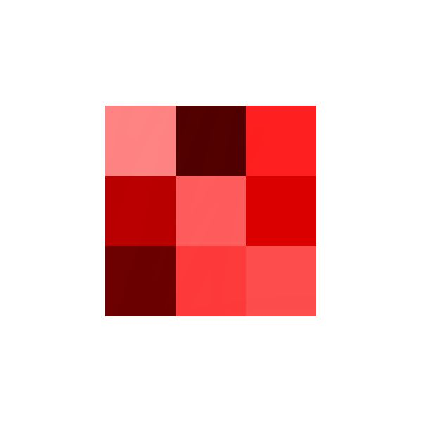 Color icon red