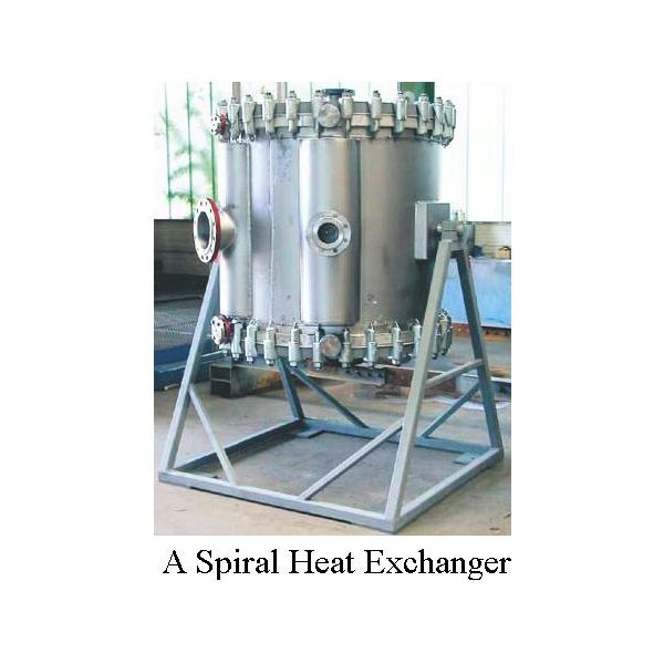 a spiral heat exchanger