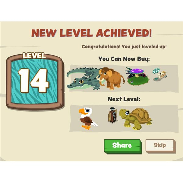 New Zoo Paradise Level