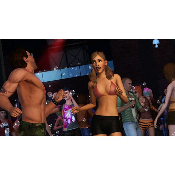 The Sims 3 Clubbing