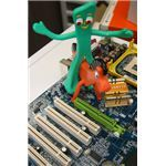 What is the green mother expansion slot used - pic