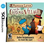 Best Nintendo DS Puzzle Games - Professor Layton and the Curious Village
