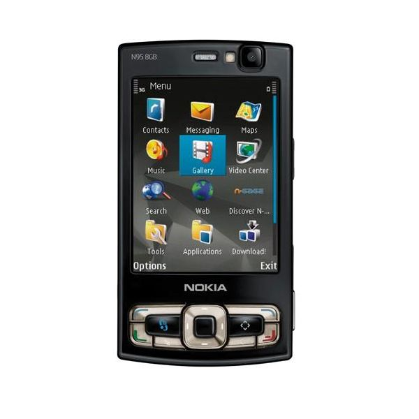 Nokia N95 8GB Menu