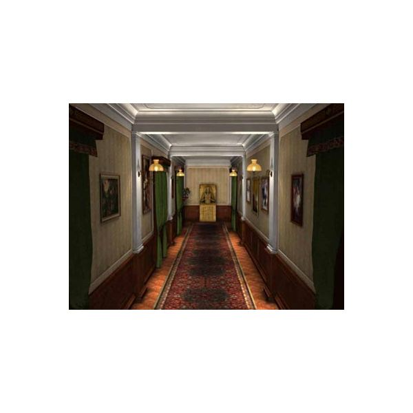 Lord Montcalfe's Hallway in the Mystery of the Mummy