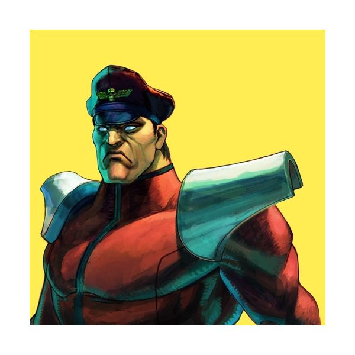 Bison in Street Fighter IV
