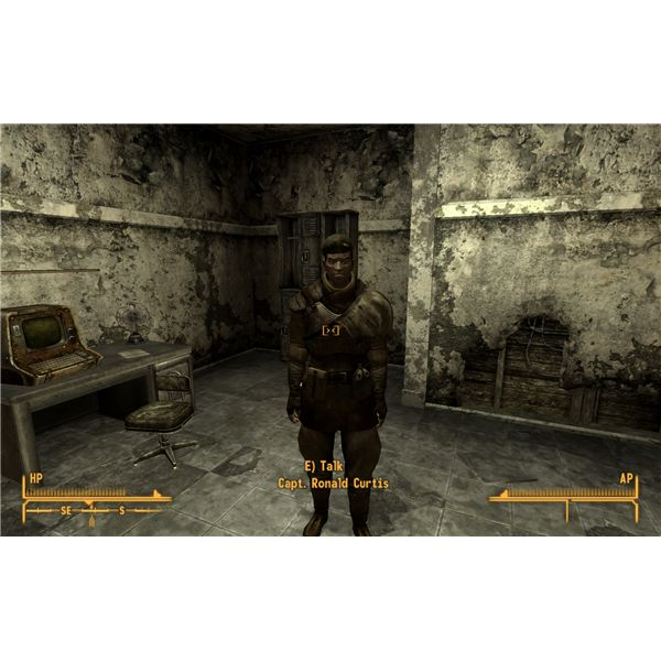 Fallout: New Vegas Walkthrough - I Put a Spell on You - Cpt. Curtis