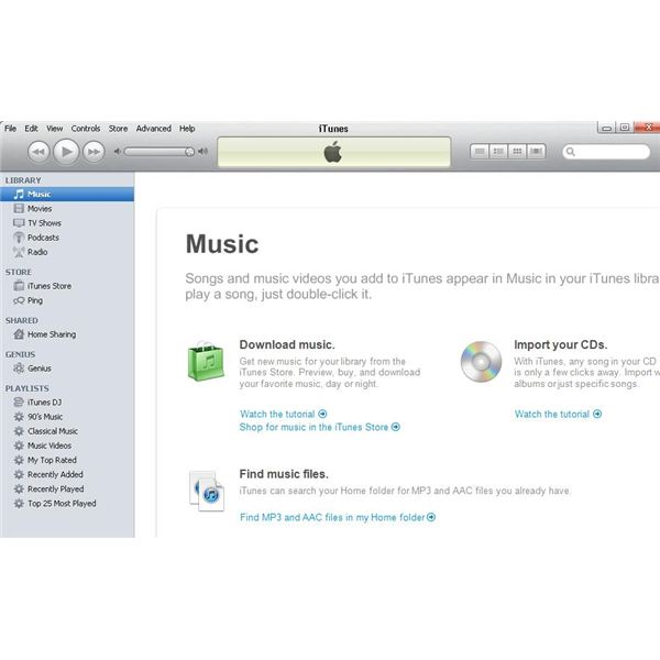 Transfer iTunes from One Account to Another