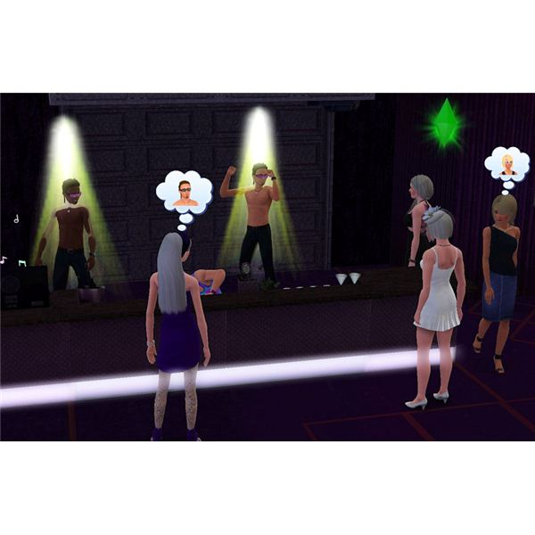 The Sims 3 Bachelorette party