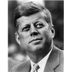 John F. Kennedy, White House photo portrait