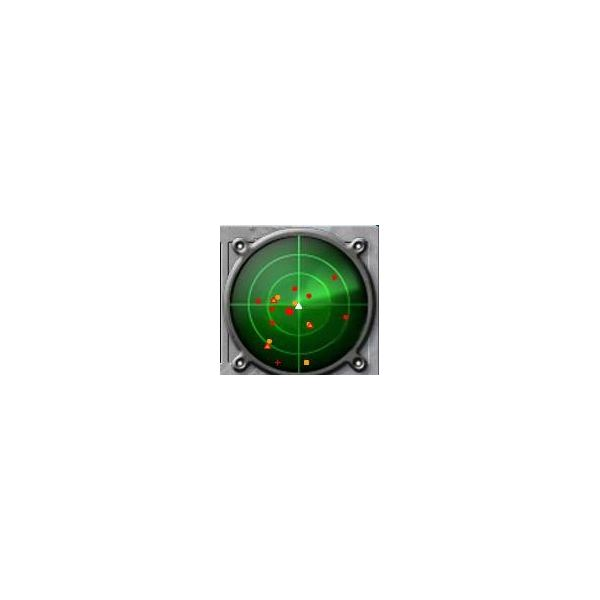 Battle Pirates Radar Screen