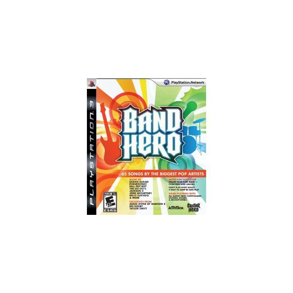 Band Hero for the PS3 is a Cheating Paradise