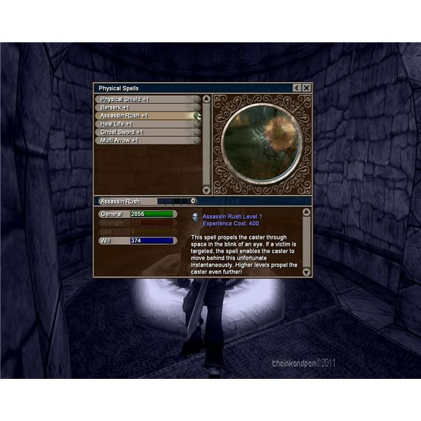 Fable Lost Chapters: Physical Spells