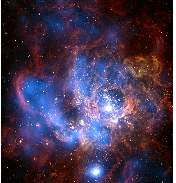 Galaxy M33: Chandra X-ray Observatory