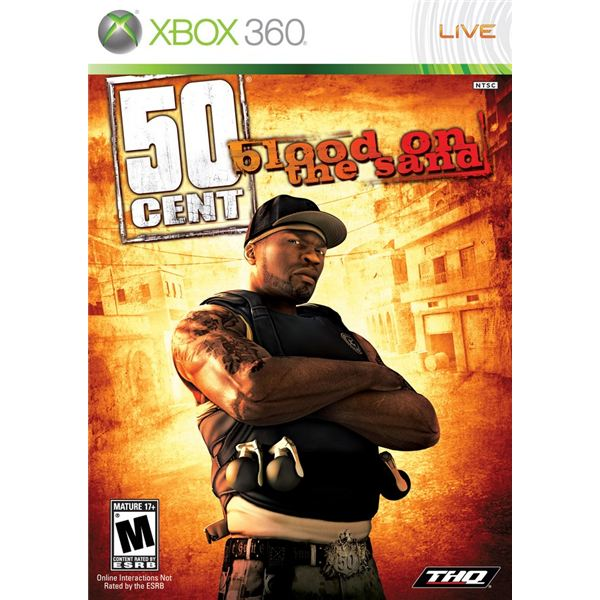 50 Cent: Blood on the Sand Cover