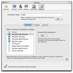 tick windows sharing mac