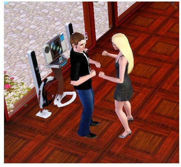 Sims 3 Dancing