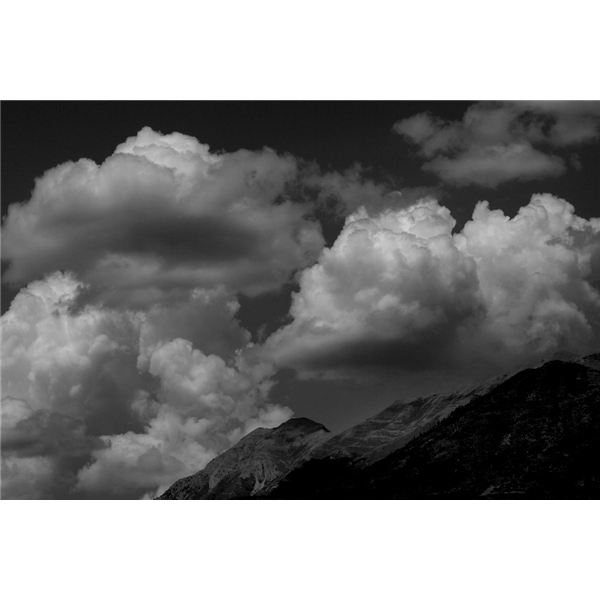Black and White Pictures of Clouds