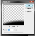 Gaussian Blur settings