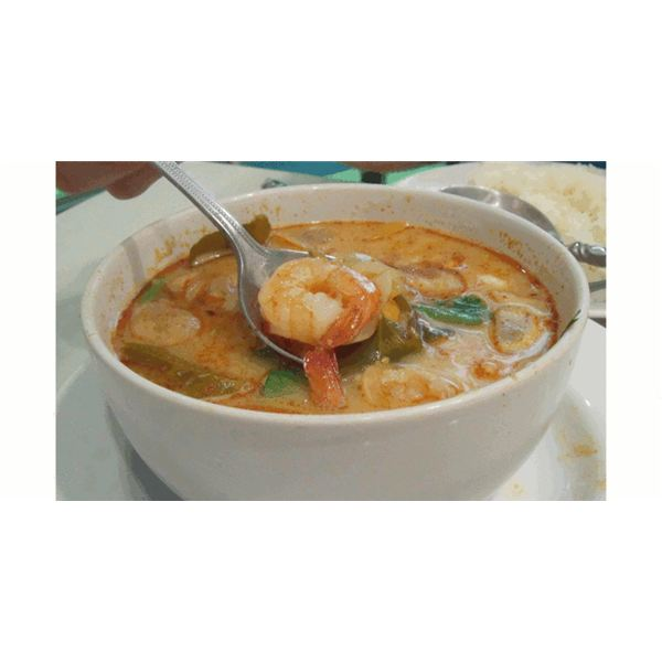 Calories in Thai Soup are 205 grams