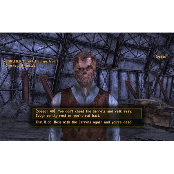 Fallout: New Vegas - Debt Collector - Grecks