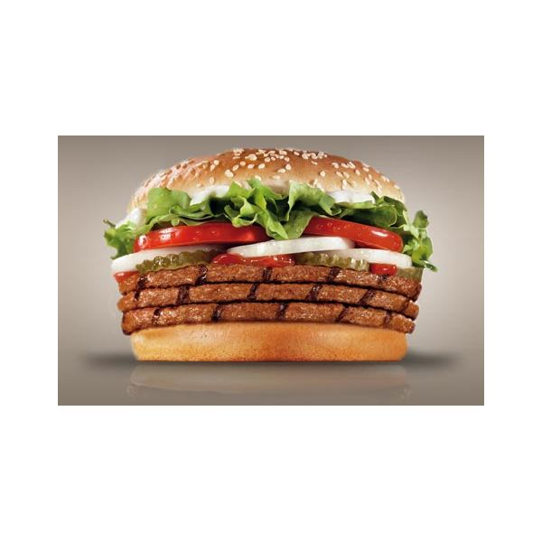 Burger King Triple Whopper