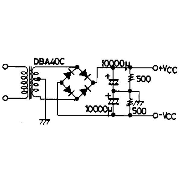 amplificador 1500w circuit diagram t