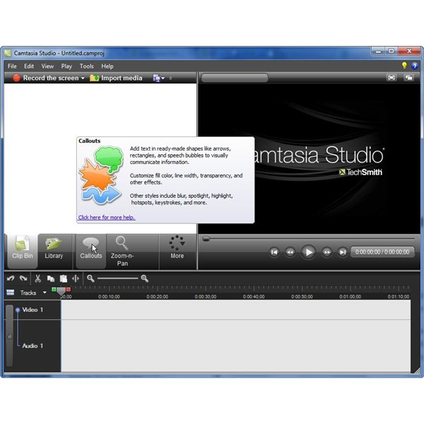 Pop-Up Tips in Camtasia Studio