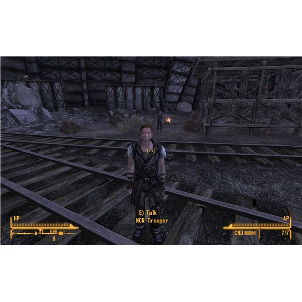 Fallout: new Vegas - The NCR Station After Pacer's Attack