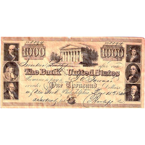 800px-Promissory note - 2nd Bank of US $1000