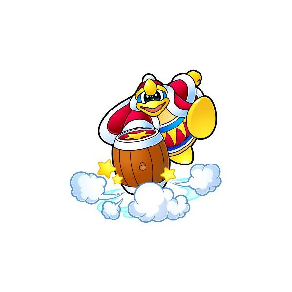 King Dedede is Kirby's nemesis and the main antagonist in Kirby's Adventure.