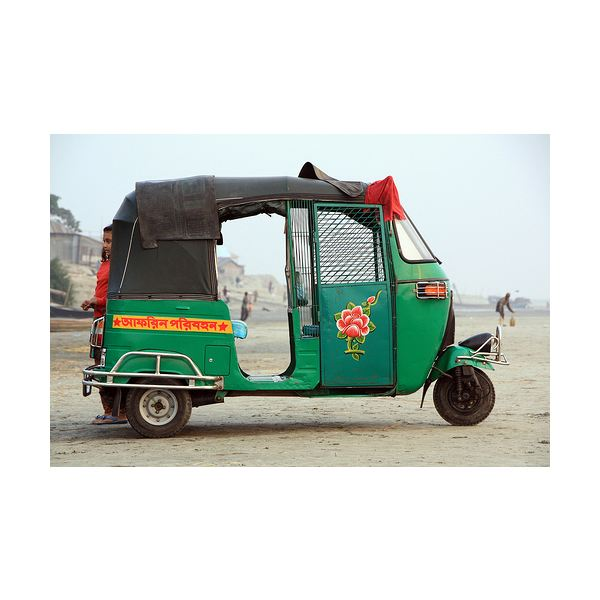 Gas Powered Rickshaw
