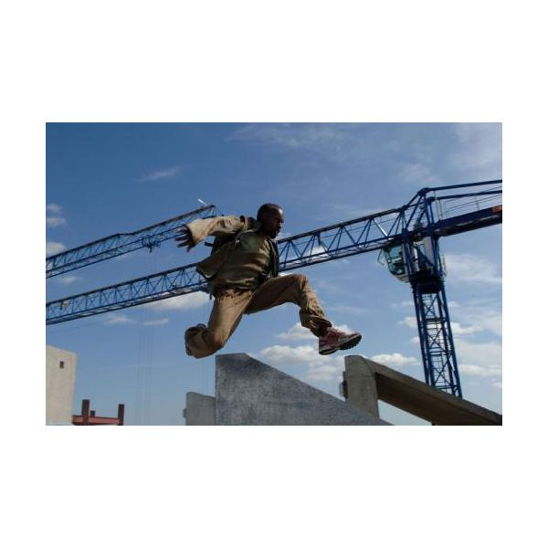 The free-running scene in Casino Royale takes place around a building site - superb!