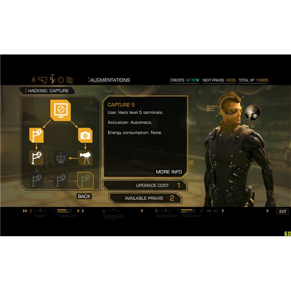 Deus Ex: Human Revolution Augmentations and Skills Guide
