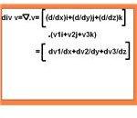 Formula of Divergence