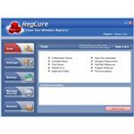User Interface of RegCure