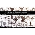 dark-gothic-brushes By redheadstock