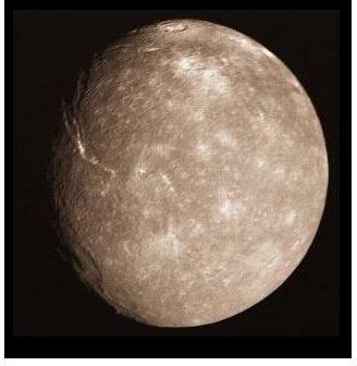 Titania, the Largest Moon of Uranus