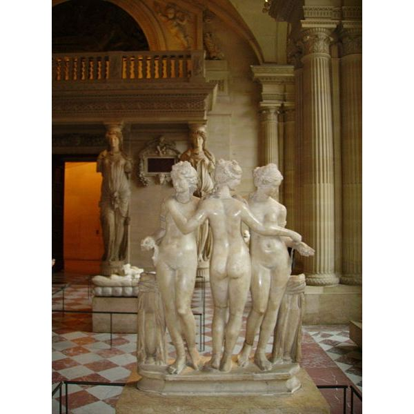 The Three Graces-Louvre