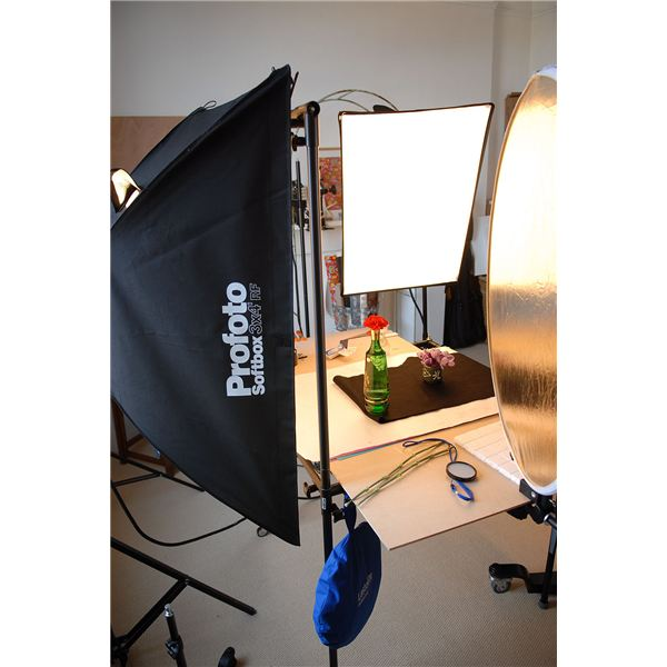 Product Photography Set Up