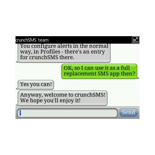 Top 4 BlackBerry SMS Applications