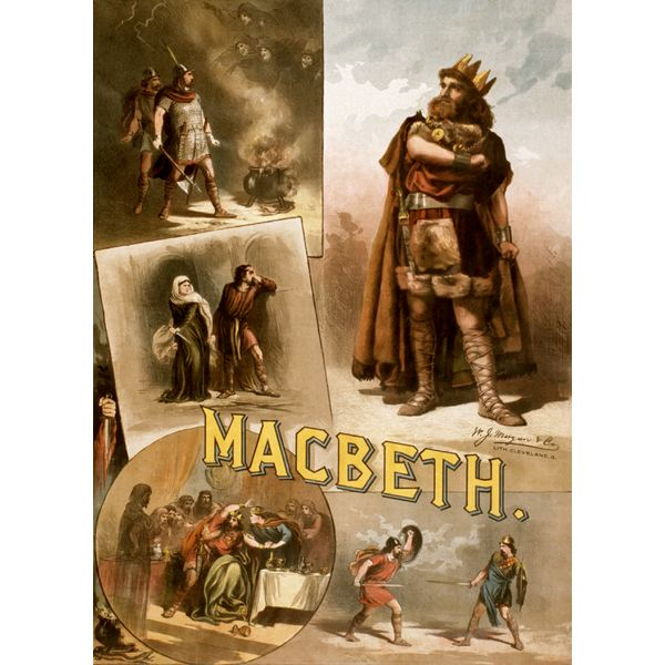 Thomas Keene in Macbeth 1884 (Public Domain)