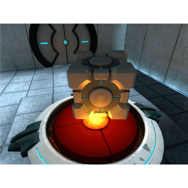 Portal featured beautiful graphics and a clean futuristic art style.
