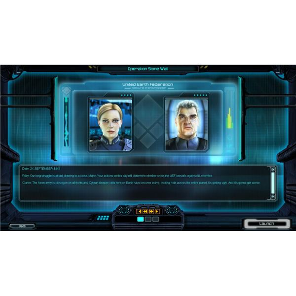 Supreme Commander: Characters Drive the Story