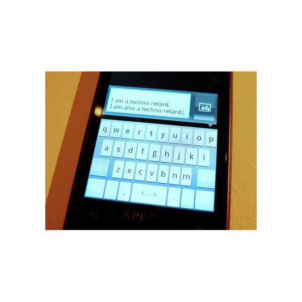 sony ericsson xperia ray keyboard